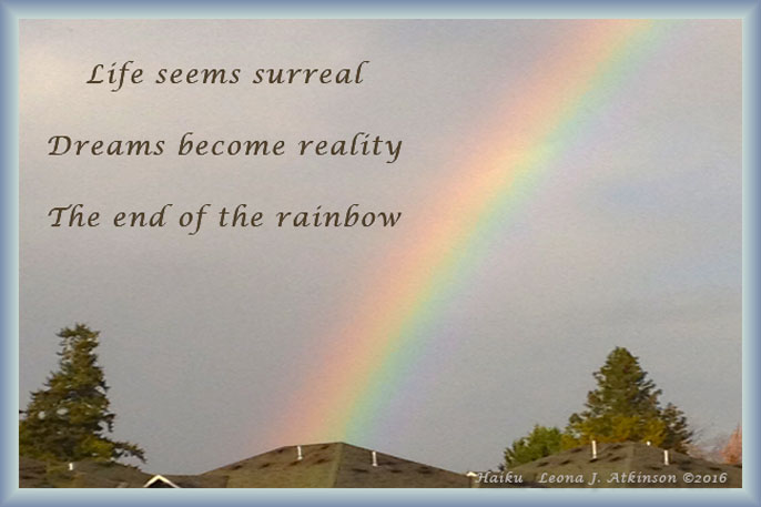 Reality--Rainbow--Haiku poem