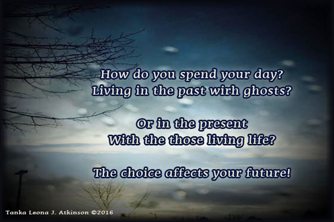 Tanka poem about spending time