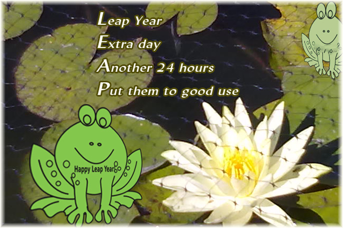 Leap Year Acrostic poem
