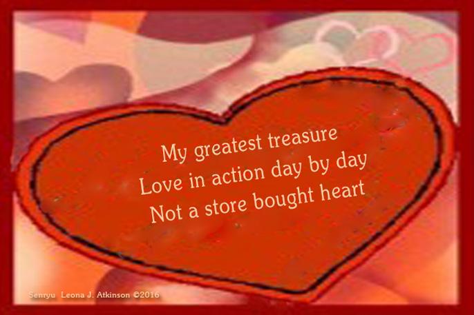 Valentines Day Senryu poem