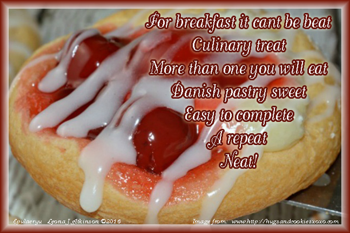 Cherry Cheese Danish Epulaeryu poem