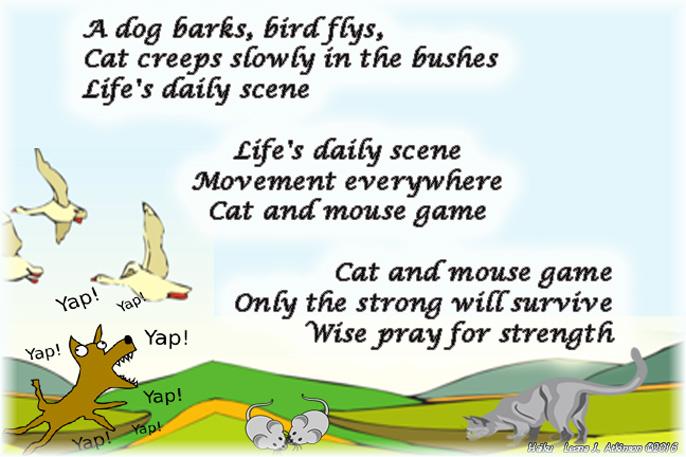 Daily Life--Haiku Cascade