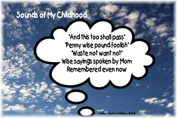 Sounds of Childhood--Tanka poem