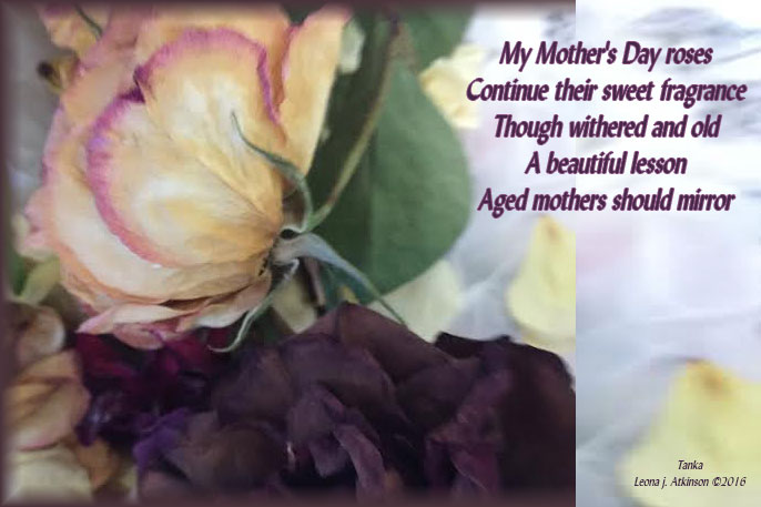roses-Mother's Day--Tanka