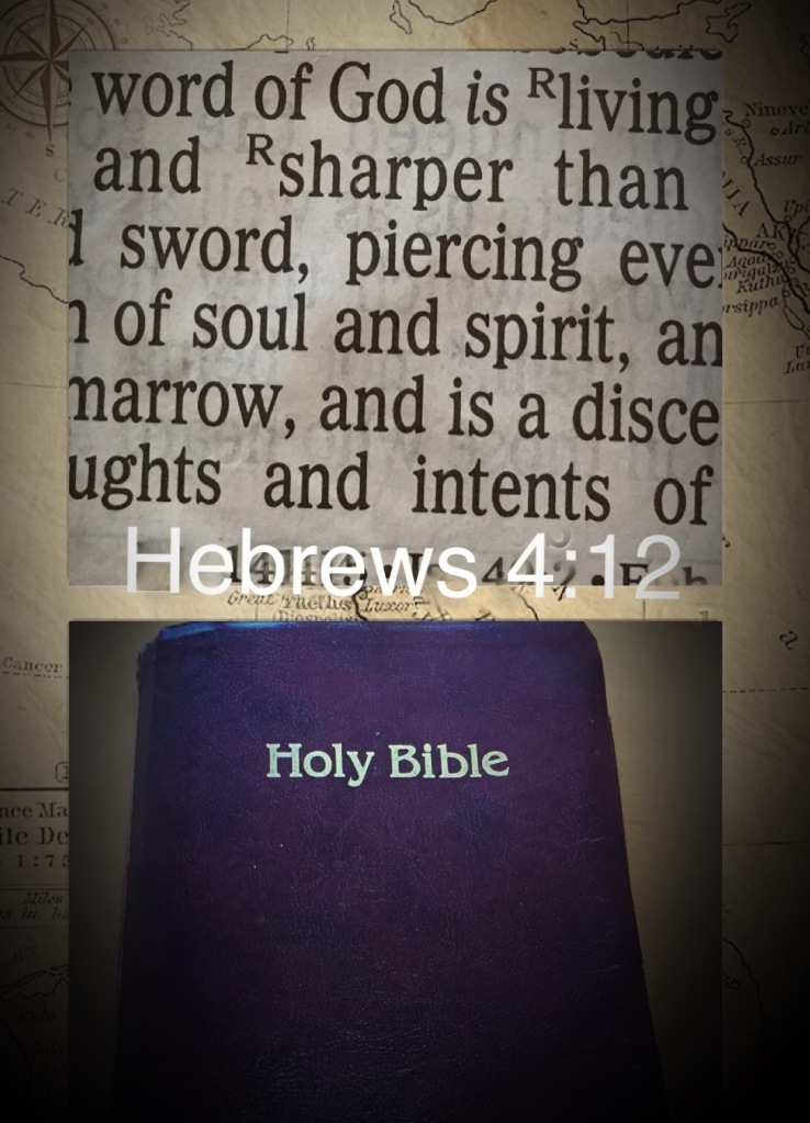 Bible, scripture, Hebrews 4:12,