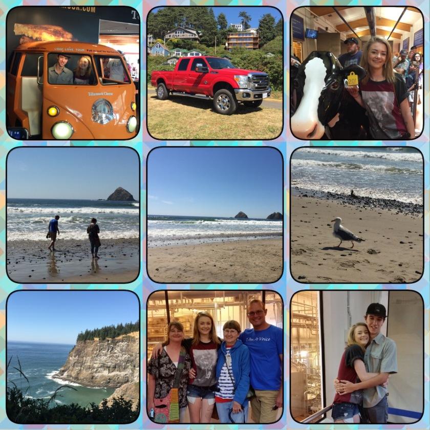 summertime beach trip