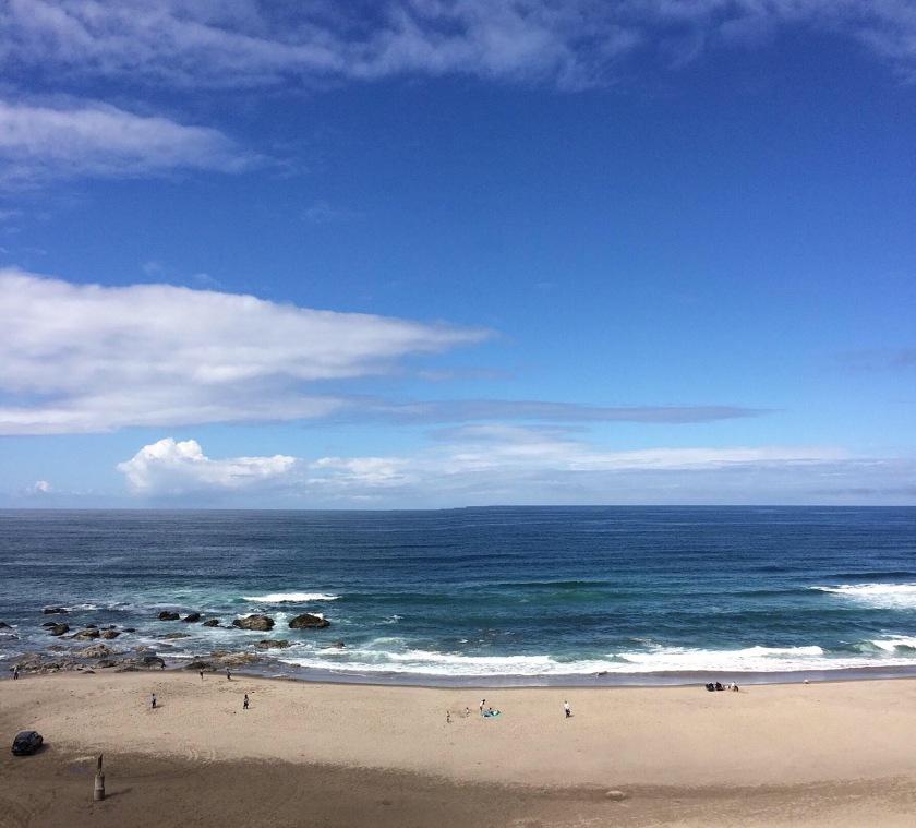 ocean beach in Oregon