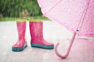 Rain, Rain Boots,Umbrella