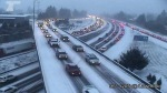 Winter snowstorm Portland, OR image from Fox12  News