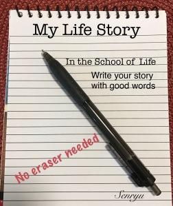Life's Story, pen, paper