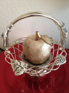 Golden Apple in a Silver Basket
