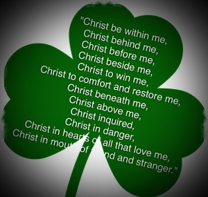Shamrock, St.Patrick's Breastplate Prayer