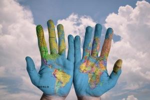 World, hands