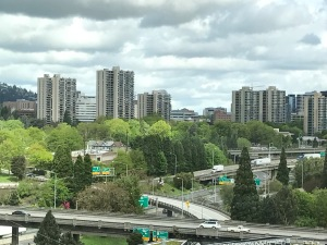 The city, Portland, Oregon