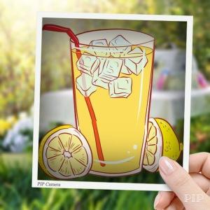 Lemonade, picnic, forest