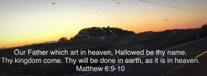 Lord's Prayer Matthew 6:9-10