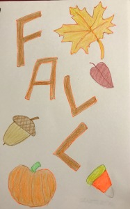 Fall drawing