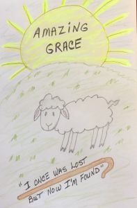 Amazing Grace Original Drawing