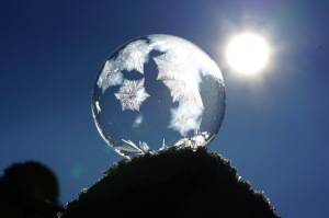 World, sun, ice