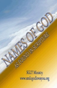 Names of God book by SGLY Ministry