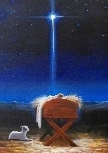 Baby Jesus and Bethlehem Star source unknown—image on Facebook