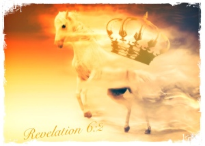 White horse, Crown, Revelation 6:2