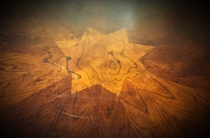 8 Point Star table top