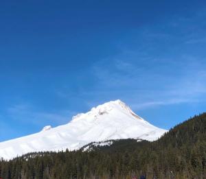 Mt. Hood in Winter, Photo by Vivian Marcin @2018