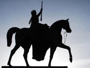 Queen Victoria on horse