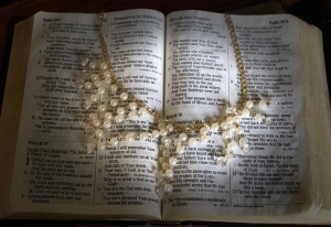Bible, pearls