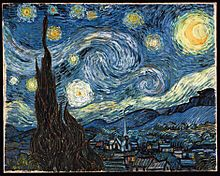 "Vincent van Gogh's ""Starry Night"" painting"