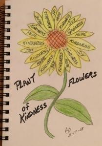 Kindness Sunflower
