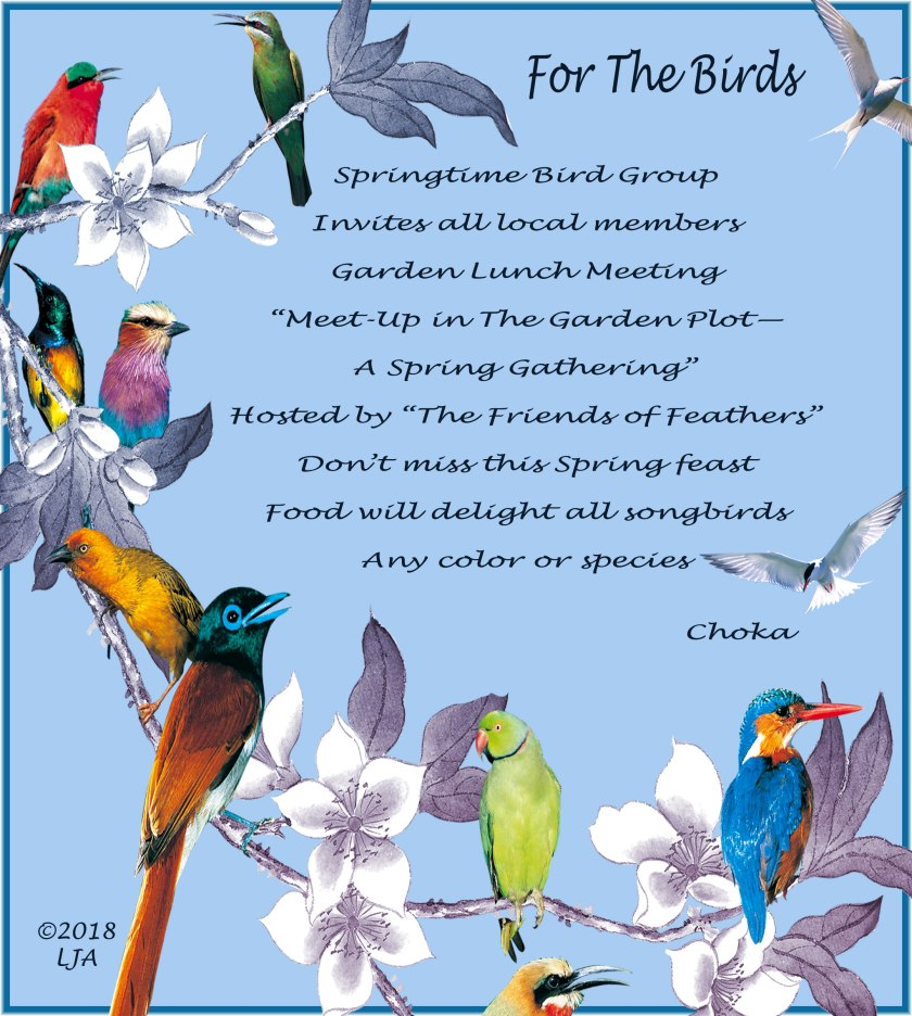For The Birds poem