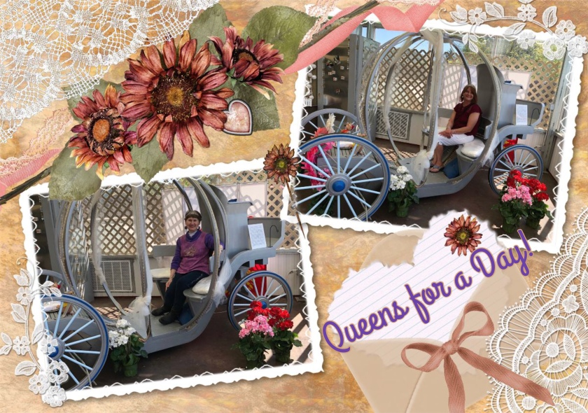 Queens in a Carriage, Queens for a Day