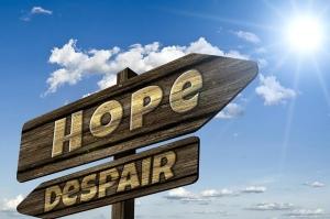 Two Words, Hope, Despair