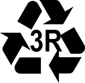 3R Recycle Reuse Reduce Symbol