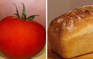 Tomato and Loaf of Bread