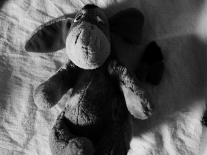 Eeyore stuffed toy