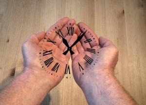Hands, clock hands