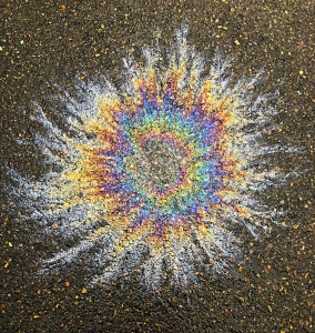 Oil Slick on blacktop