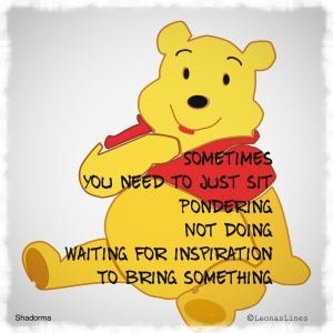 Pooh Bear Drawing, Shadorma Poem