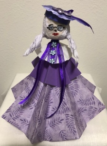 Origami Lady created by LeonasDesigns 2019