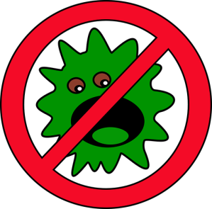 Flu bug icon