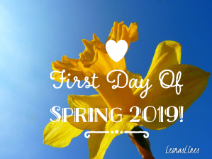 Daffodil, first day of Spring 2019