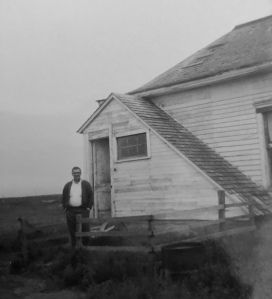 My Dad 1967 standing near what was left of his childhood home in Sisseton, South Dakota