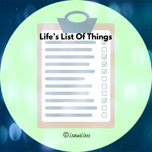 Clipboard with list