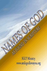 Names of God book cover