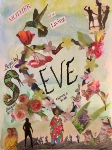 """EVE"" Mixed Media Art ©️LeonasDesigns 2019"