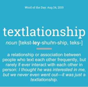 Dictionary. Com image of the Word of the Day, Textlationship