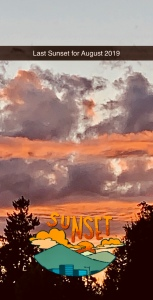 Last Sunset August 2019
